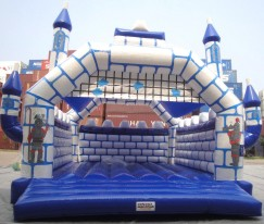 Big Blue Castle