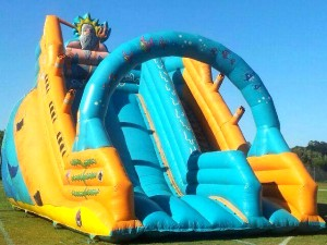 Giant Blue Slide